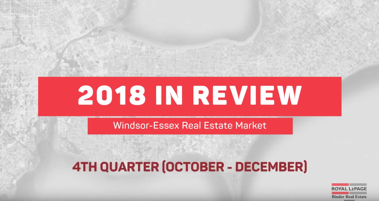 Q4 Market Statistics for Royal LePage Binder 2018