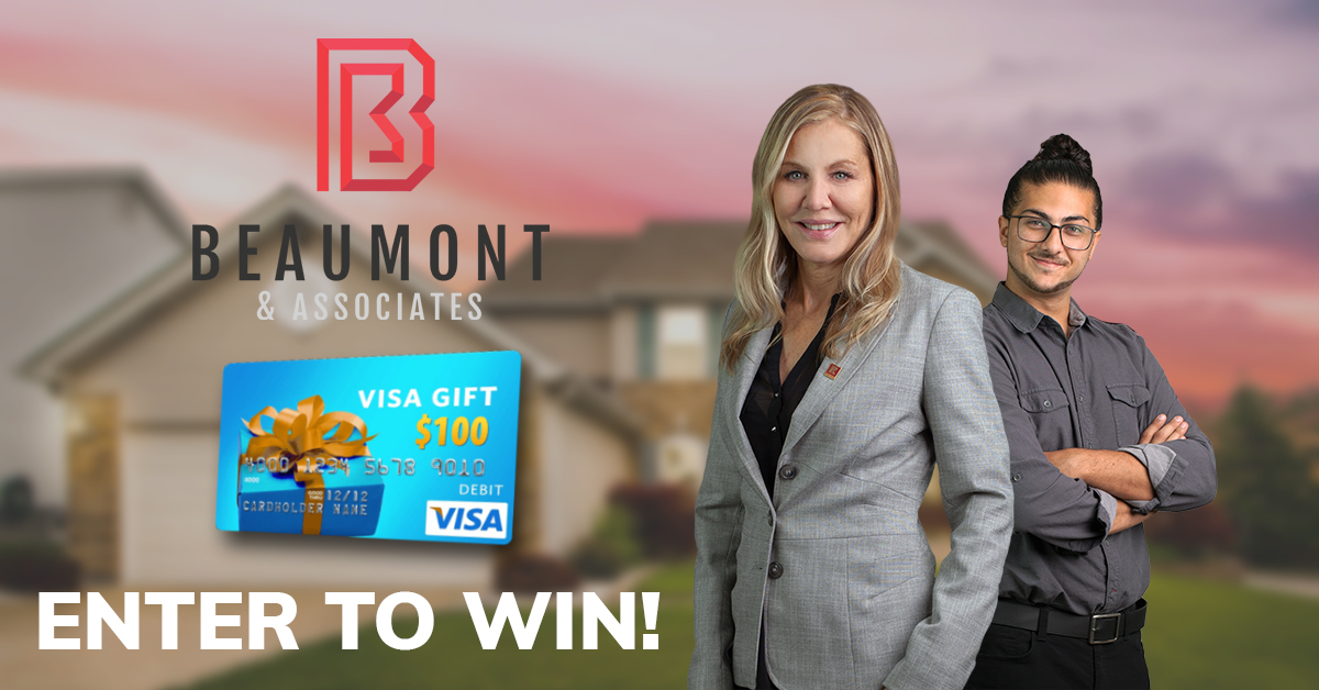 Enter To Win a $100 Visa Gift Card!